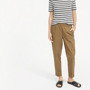 Everlane Easy Chino Tapered Cotton Tan Pant 12
